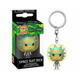 Funko POP! Keychain Rick and Morty: Space Suit Rick