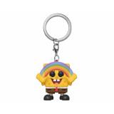 Funko POP! Keychain Spongebob Squarepants: Spongebob with Rainbow
