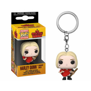 Funko POP! Keychain The Suicide Squad: Harley Quinn Damaged Dress