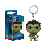 FUNKO POP Keychain Thor Ragnarok Casual Hulk