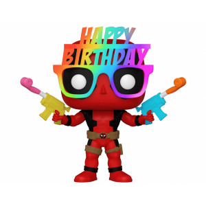 Funko POP! Marvel Deadpool: Birthday Glasses Deadpool
