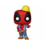 Funko POP! Marvel Deadpool: Construction Worker Deadpool