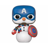 Funko POP! Marvel Holiday: Captain America