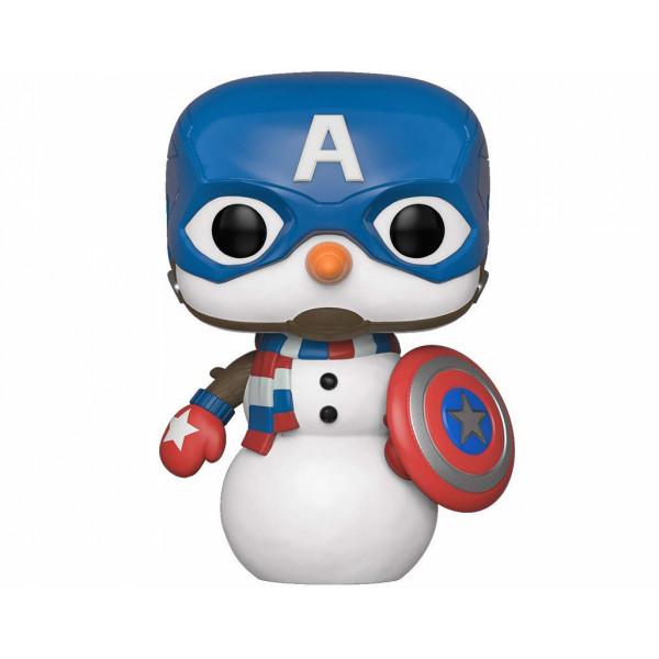 Funko POP! Marvel Holiday: Captain America