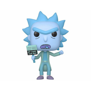Funko POP! Rick and Morty: Hologram Rick Clone