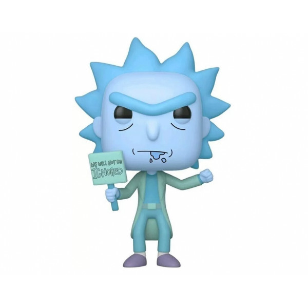 Funko POP! Rick and Morty: Hologram Rick Clone (Exc.)