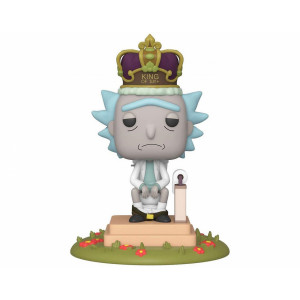Funko POP! Rick and Morty: King of $#!+