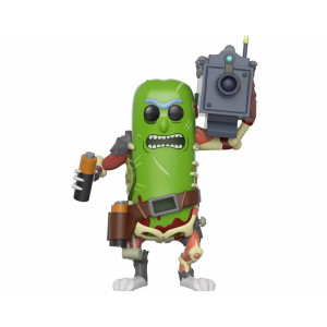 Funko POP! Rick and Morty: Pickle Rick with Laser