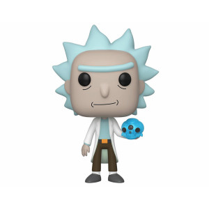 Funko POP! Rick and Morty: Rick with Crystal Skull