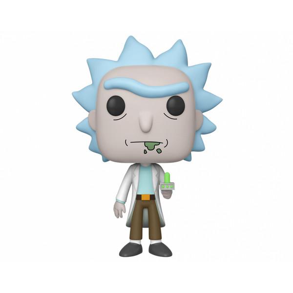 "Funko POP! Rick and Morty: Rick with Portal Gun 10"""