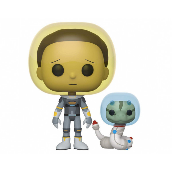 Funko POP! Rick and Morty: Space Suit Morty with Snake