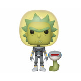 Funko POP! Rick and Morty: Space Suit Rick with Snake