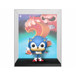 Funko POP! Sonic the Hedgehog 2: Sonic (Cover Box Game)