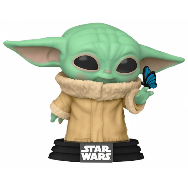 Funko POP! Star Wars The Mandalorian: Grogu with Butterfly