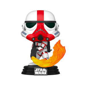 Funko POP! Star Wars The Mandalorian: Incinerator Stormtrooper
