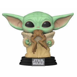 Funko POP! Star Wars The Mandalorian: The Child with Frog