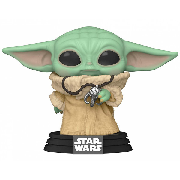 Funko POP! Star Wars The Mandalorian: The Child with Pendant