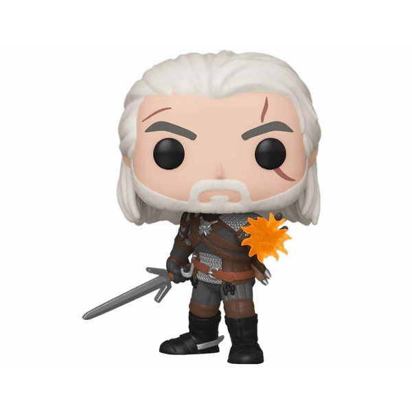 Funko POP! The Witcher: Geralt (IGNI) (Glows in the Dark)