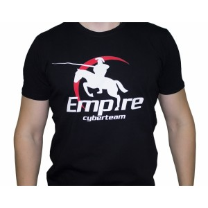 Футболка Team Empire Logo #2 черная