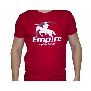 Футболка Team Empire Logo #2 красная
