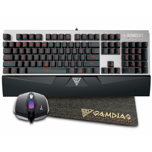Gamdias Hermes E1 Gaming Combo Black Switch