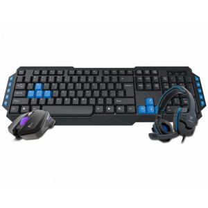 Gamdias Poseidon E1 3-in-1 Gaming Combo