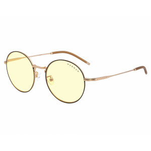 Gunnar Ellipse Amber Black Gold