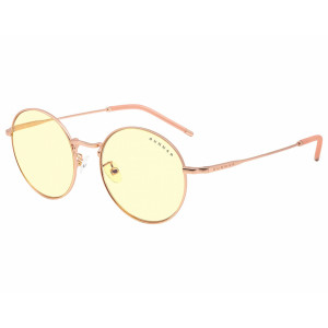 Gunnar Ellipse Amber Rose Gold