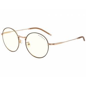 Gunnar Ellipse Clear Black Gold