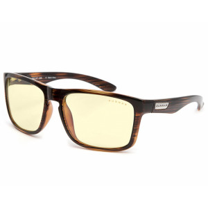 Gunnar Intercept Amber Dark Oak