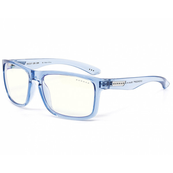 Gunnar Intercept Clear Blue Crystal
