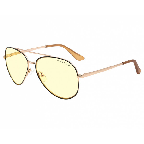 Gunnar Maverick Amber Black Gold