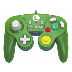 Hori Battle Pad (Luigi) for Nintendo Switch