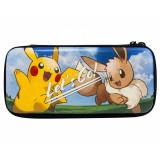 Hori Hard Pouch (Pokemon Let's Go Pikachu & Eevie) for Nintendo Switch