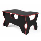 """Компьютерный стол """"Геймер"""", черный/красный"""