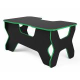 """Компьютерный стол """"Геймер"""", черный/зеленый"""