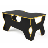 "Компьютерный стол ""Геймер"", черный/желтый"