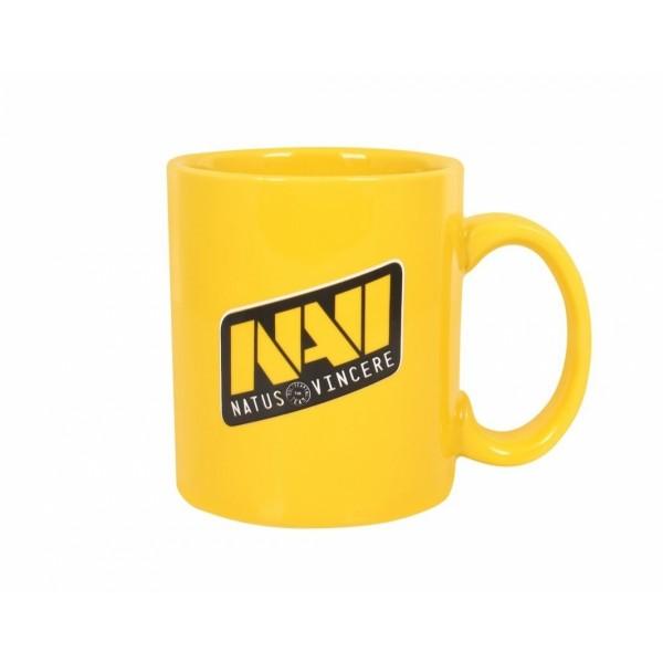 Кружка Natus Vincere, желтая