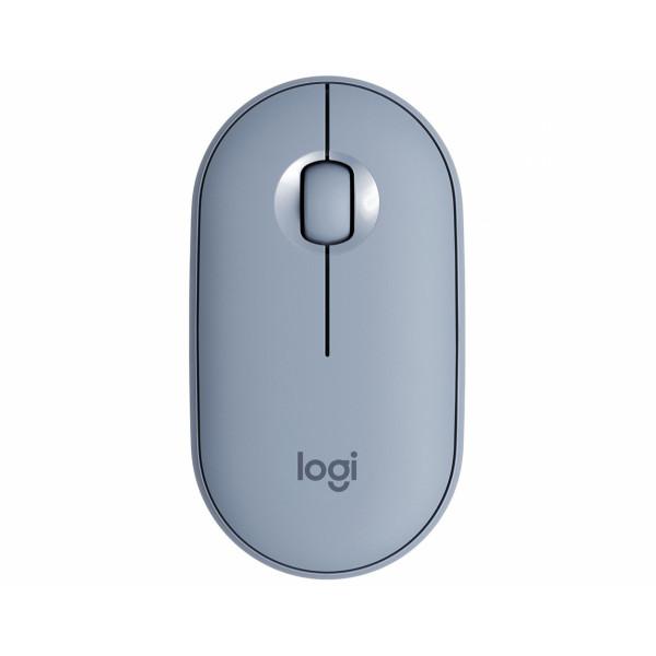 Logitech Pebble M350 Blue Grey