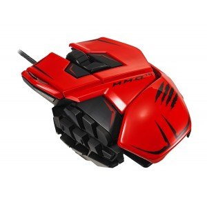 Mad Catz M.M.O. TE Gaming Mouse Red USB