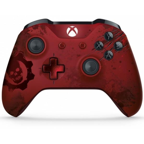 Xbox One Wireless Controller Gears of War 4 Crimson Omen