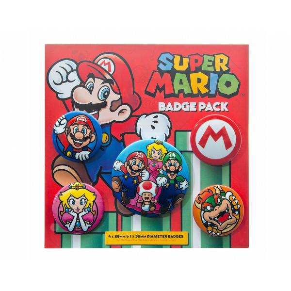Набор значков Pyramid Super Mario
