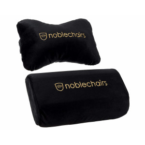 noblechairs Cushion Set Black/Gold