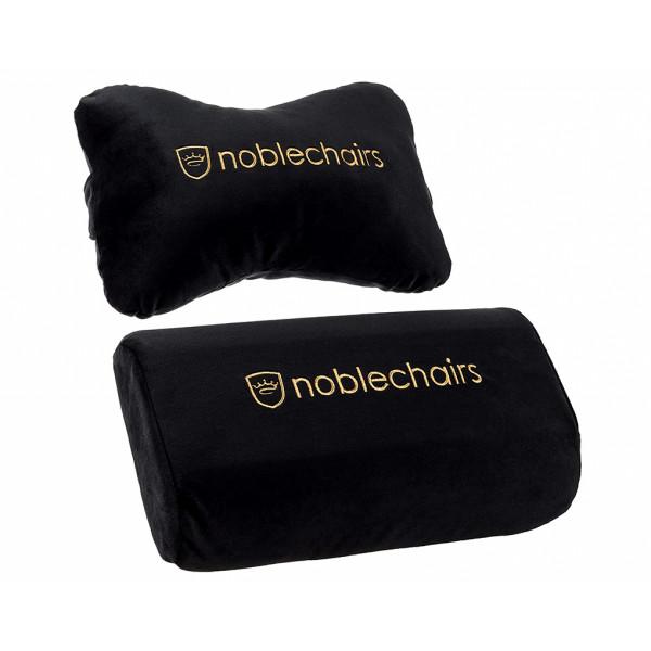 noblechairs Cushion Set Black/Gold