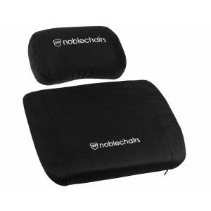 noblechairs Memory Foam Cushion Set Black