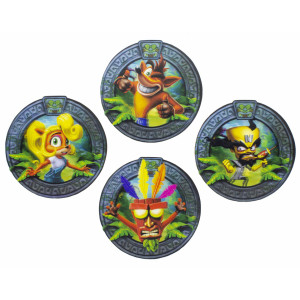 Paladone 3D Coasters: Crash Bandicoot