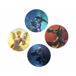 Paladone 3D Coasters: Overwatch