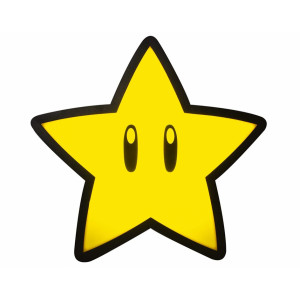 Paladone Light Super Mario: Super Star Light with Projection