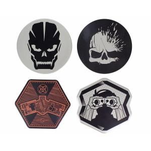 Paladone Metal Coasters: Call of Duty