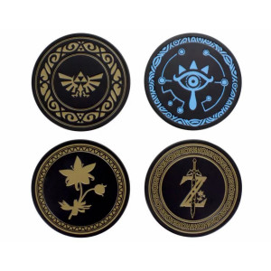 Paladone Metal Coasters: The Legend of Zelda